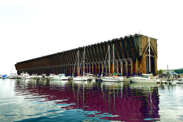 Photograph - Lower Harbor Ore Dock At Marquette Michigan. by Tom Kelly