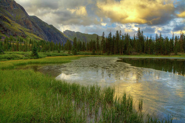 Silverton Photograph - Lower Ice Lake Basin by A. V. Ley