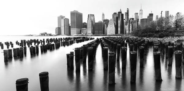 Photograph - Lower Manhattan Skyline From Pier 1 by T-S Fine Art Landscape Photography