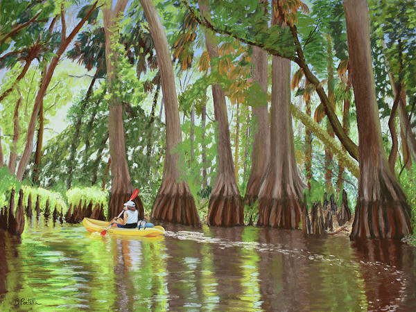 Wall Art - Painting - Loxahatchee by Beatriz Portela