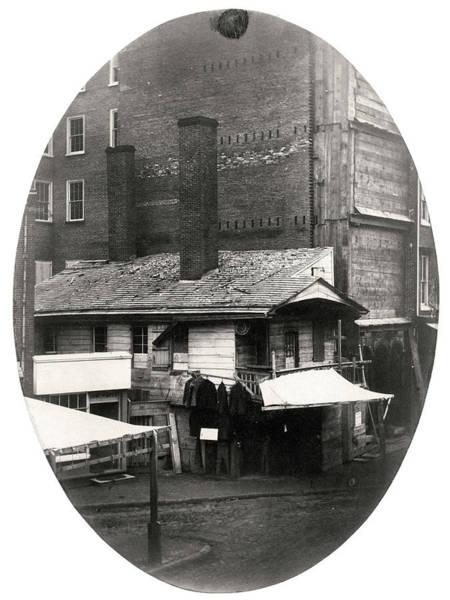 Photograph - Loxley House, Philadelphia, Ca. Late 1850s by Thomas S Hacker