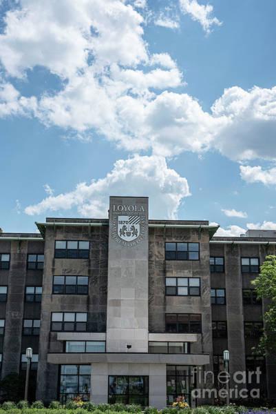 Wall Art - Photograph - Loyola University by David Bearden