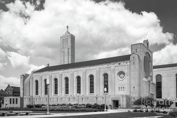 Photograph - Loyola University Della Strada Chapel by University Icons