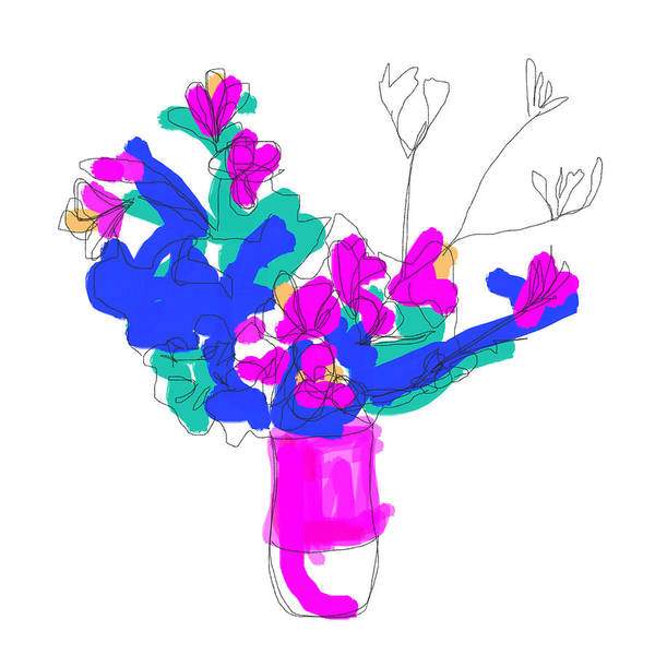 Digital Art - Ls, #2 by Jennifer Reyna