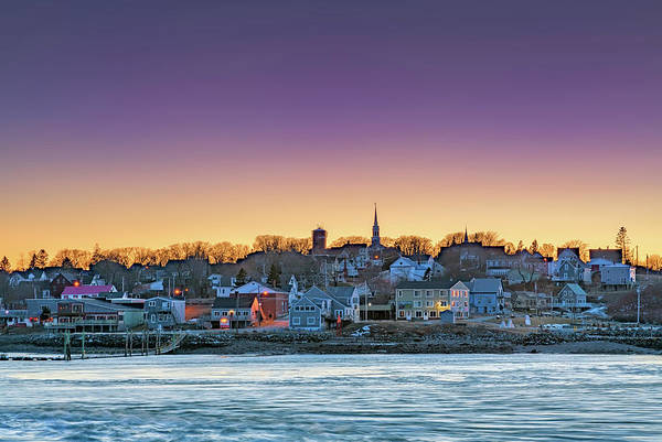 Photograph - Lubec Twilight by Rick Berk