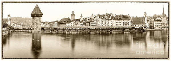 Chapel Bridge Photograph - Lucerne by DiFigiano Photography