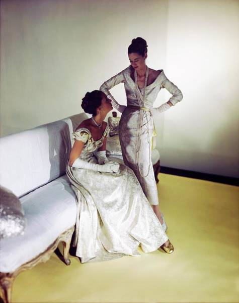 Photograph - Lucile Carhart And Mrs. Dixon Boardman by Horst P. Horst