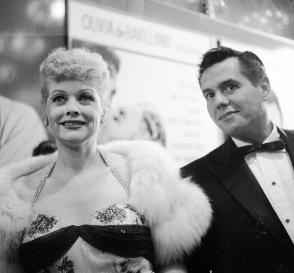 Johnny Carson Photograph - Lucille And Desi by Michael Ochs Archives
