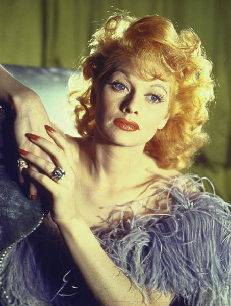 Photograph - Lucille Ball by Walter Sanders