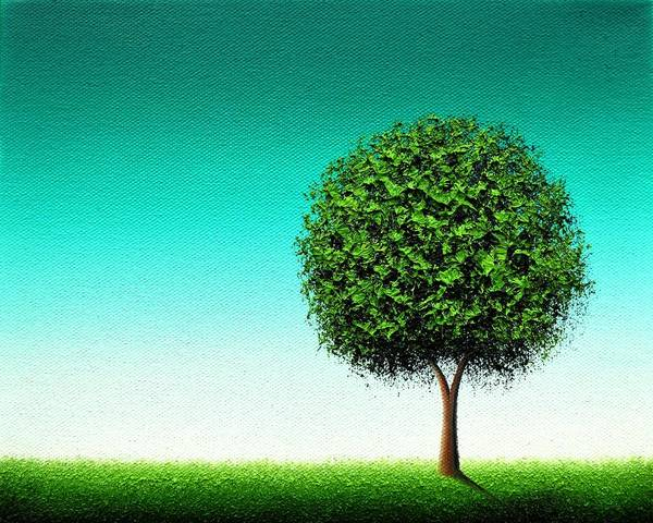 Wall Art - Painting - Luck's Blooming by Rachel Bingaman