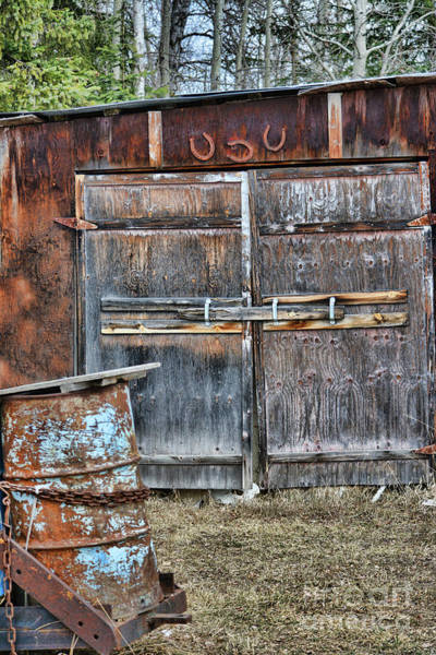 Photograph - Lucky Door by Vivian Martin