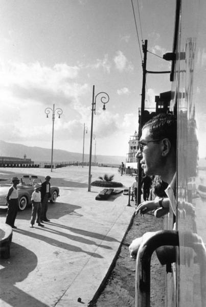 Photograph - Lucky Luciano by Slim Aarons