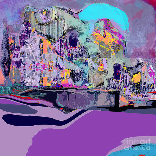 Organic Abstraction Mixed Media - Lucky No. 2 by Zsanan Studio