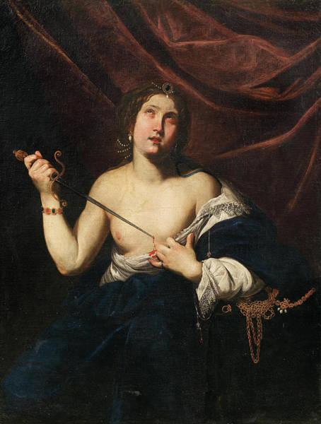 Suicide Painting - Lucretia by Diana de Rosa