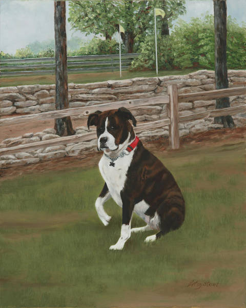 Painting - Lucy by Alice Betsy Stone