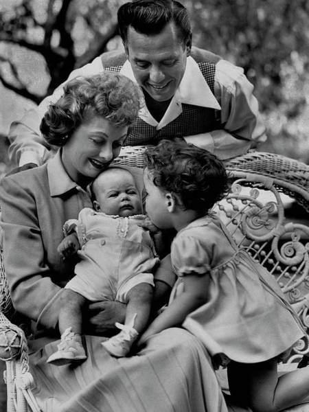 Photograph - Lucy, Desi, & Family by Ed Clark