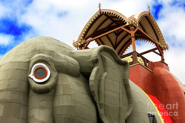 Photograph - Lucy The Elephant Color Jersey Shore by John Rizzuto