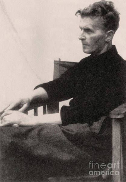 Wall Art - Photograph - Ludwig Wittgenstein, 1947 Photo by English School