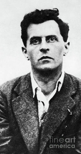 Wall Art - Photograph - Ludwig Wittgenstein, Austrian Philosopher by English School