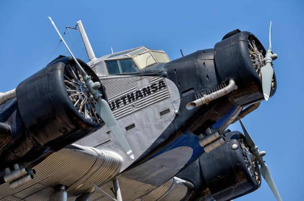 Ju 52 Wall Art - Photograph - Lufthansa Junkers Ju 52 by David Pyatt