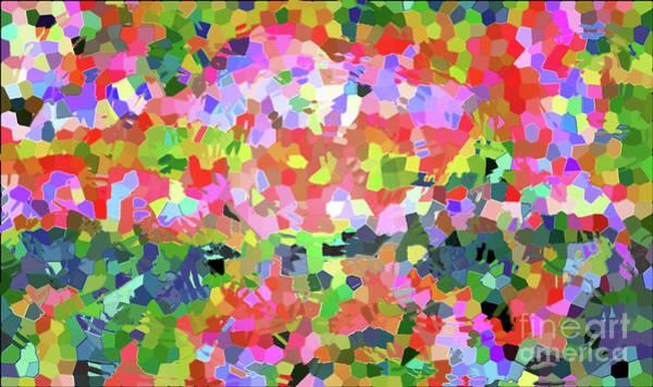 Digital Art - Luka 1007 Mosaic by Corinne Carroll