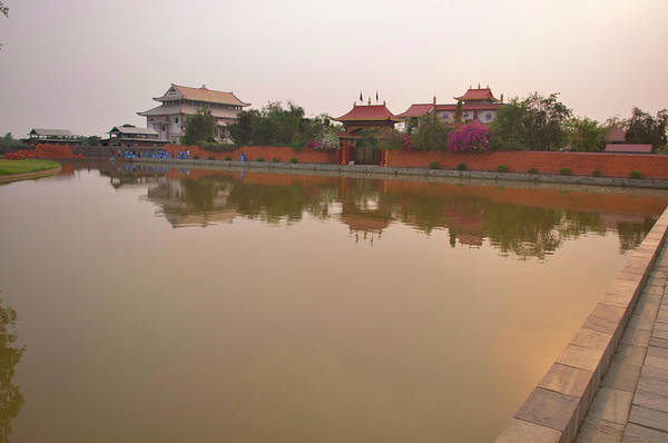 Jim Temple Photograph - Lumbini Development Zone by Jim Simmen
