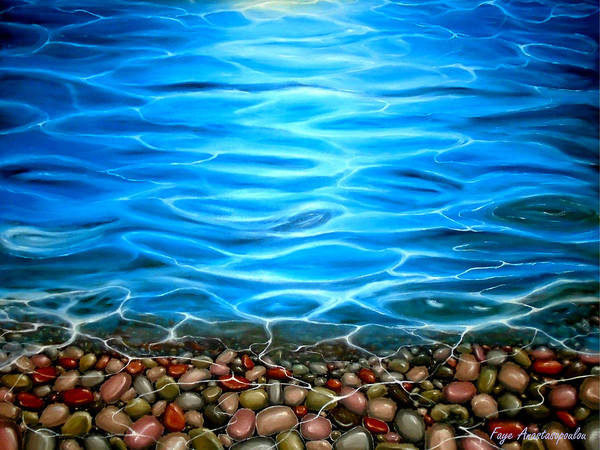 Wall Art - Painting - Luminosity by Faye Anastasopoulou
