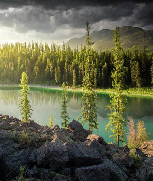 Photograph - Luminosity / Whitefish, Montana  by Nicholas Parker