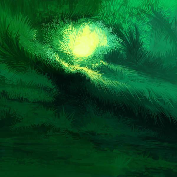 Illustration Digital Art - Luminous Illustration by Illustrations By Annemarie Rysz