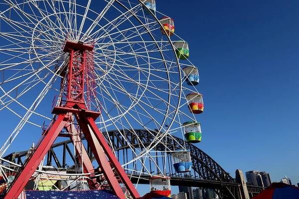 Photograph - Luna Park, Sydney Australia by Sarah Lilja