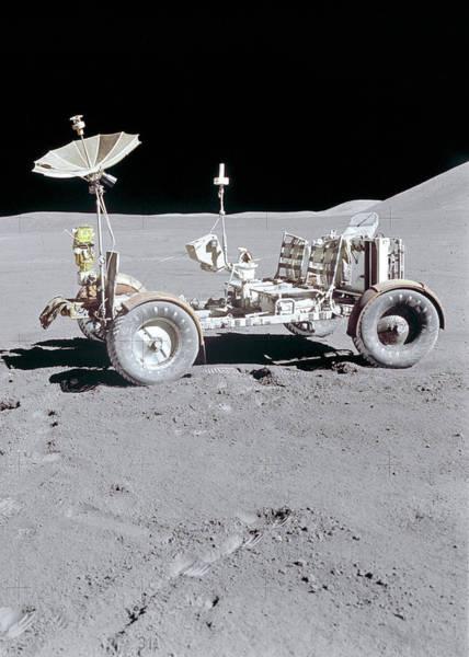 Wall Art - Digital Art - Lunar Rover by Filip Hellman