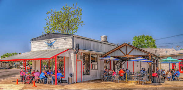 Photograph - Lunch Time In Boerne Texas by Gaylon Yancy