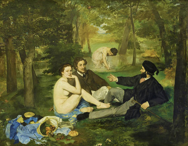Manet Wall Art - Painting - Luncheon On The Grass - Digital Remastered Edition by Edouard Manet