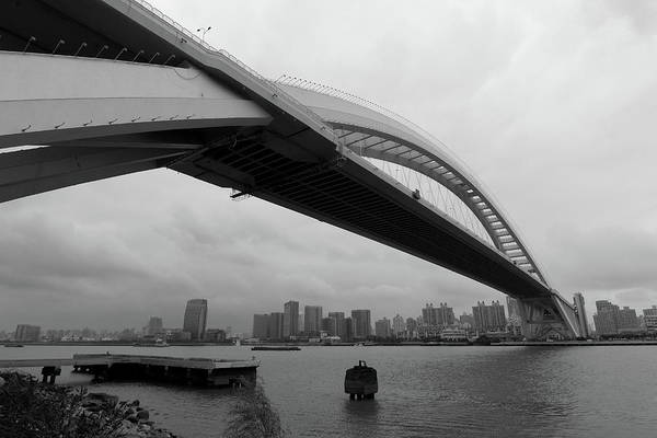 Chinese Culture Photograph - Lupu Bridge by Yglow