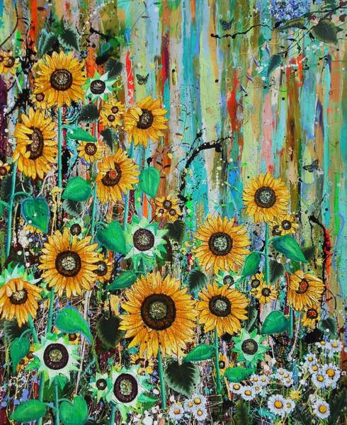 Wall Art - Painting - Lush #1 by Angie Wright