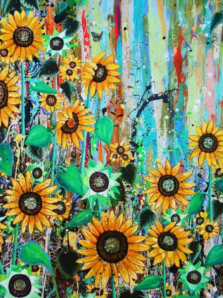 Wall Art - Painting - Lush Detail by Angie Wright