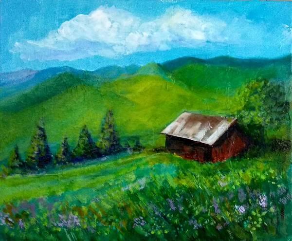 Painting - Lush Green by Asha Sudhaker Shenoy