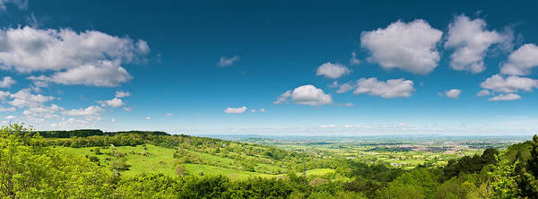 Wall Art - Photograph - Lush Green Landscape Summer Country by Fotovoyager