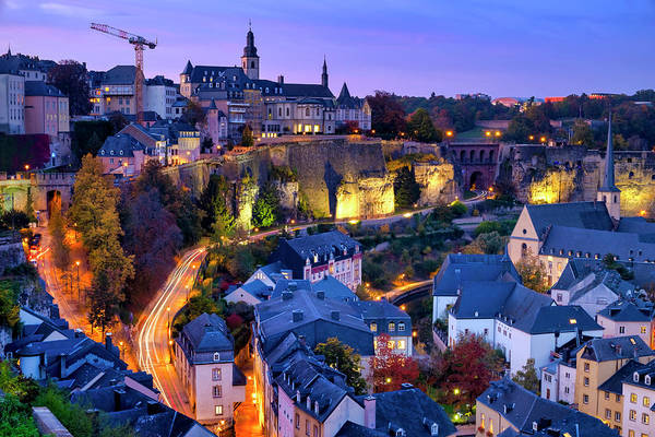 Photograph - Luxembourg City  by Fabrizio Troiani