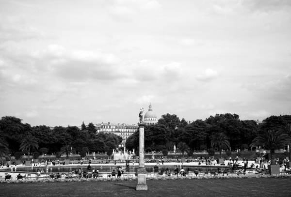 Photograph - Luxembourg Gardens 12b by Andrew Fare