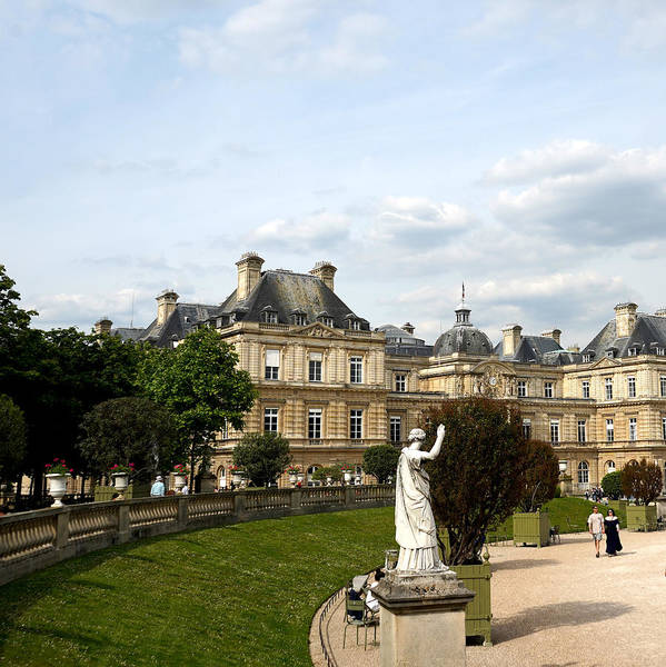 Photograph - Luxembourg Gardens 13 by Andrew Fare