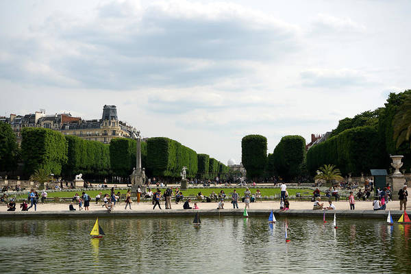 Photograph - Luxembourg Gardens 14 by Andrew Fare