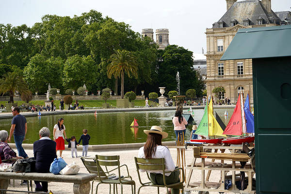 Photograph - Luxembourg Gardens 15 by Andrew Fare