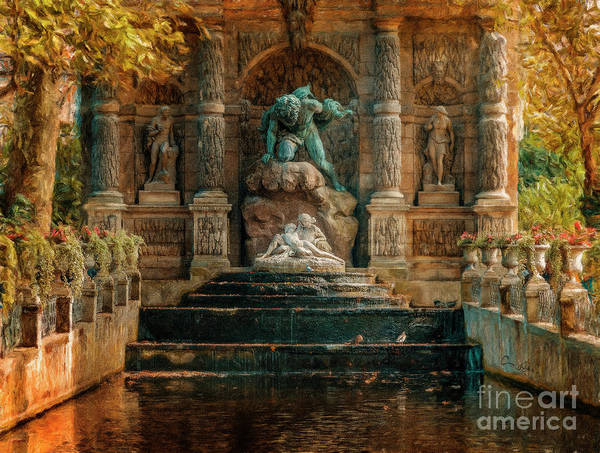 Photograph - Luxembourg Gardens by Craig J Satterlee