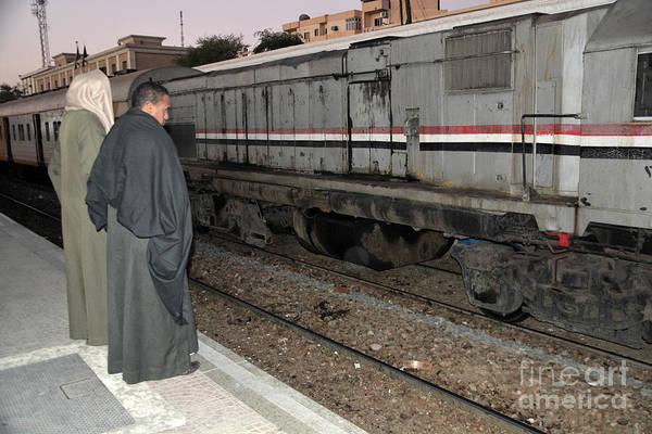 Wall Art - Photograph - Luxor Train Station by Andrea Simon