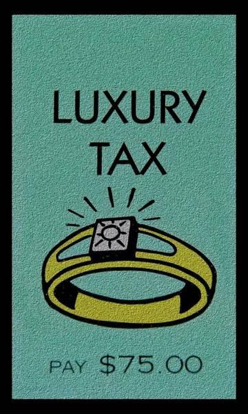 Jewelery Photograph - Luxury Tax by Rob Hans