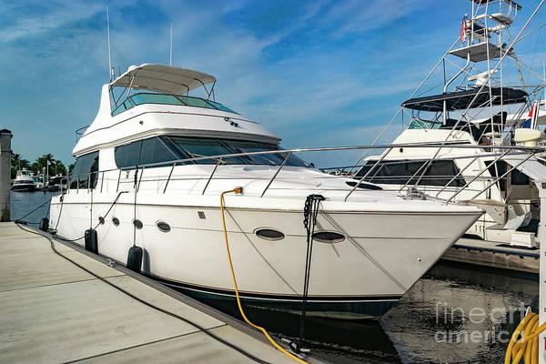 Photograph - Luxury Yacht 0349 by Carlos Diaz