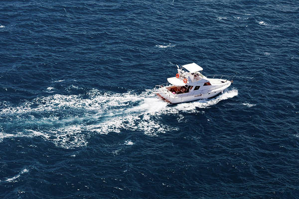 Luxury Yacht Photograph - Luxury Yatch by Justhappy