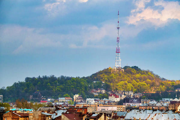 Photograph - Lviv Television Tower by Fabrizio Troiani