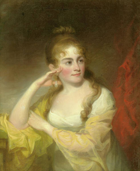 Painting - Portrait Of Lydia Leaming, 1806 by Thomas Sully
